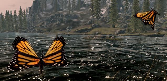 Art Tickles: Chasing Butterflies